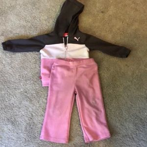 2-Piece Puma Warm-up Set 18 mos.
